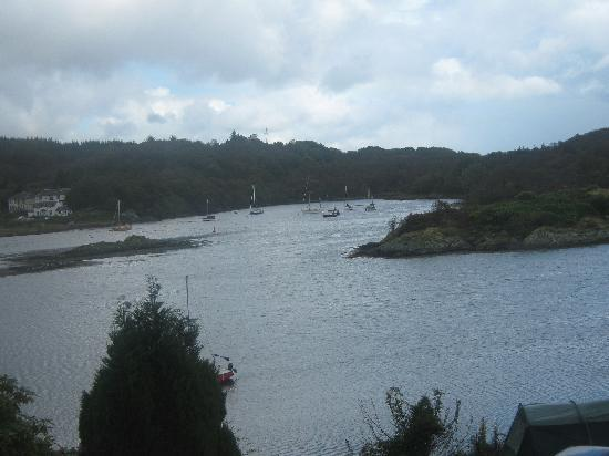 The Moorings: view from bedroom 3