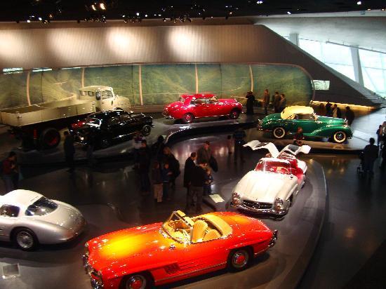 พิพิธภัณฑ์ยานยนต์ เมอร์เซเดส-เบนซ์: models