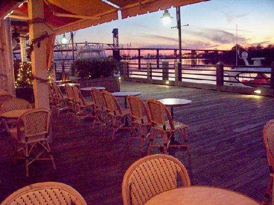 Le Catalan: Sunset & Candle light seating