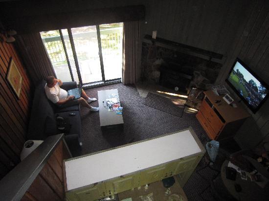 ดักลาสเฟอร์ รีสอร์ท & ชาเลทส์: view from loft