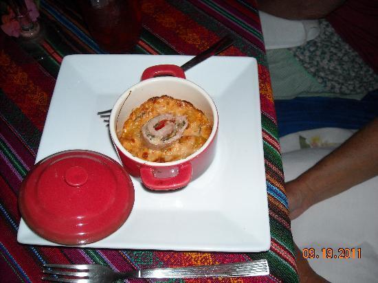 Lolo Lorena: gnocchi with pork loin