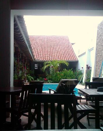 Bioma Boutique Hotel Mompox: Vista desde el comedor