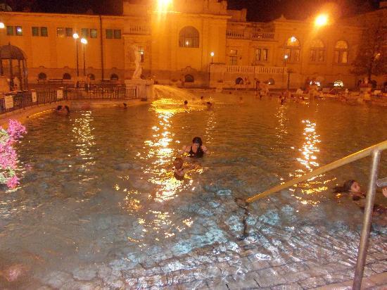 Széchenyi Baths and Pool: piscina principal