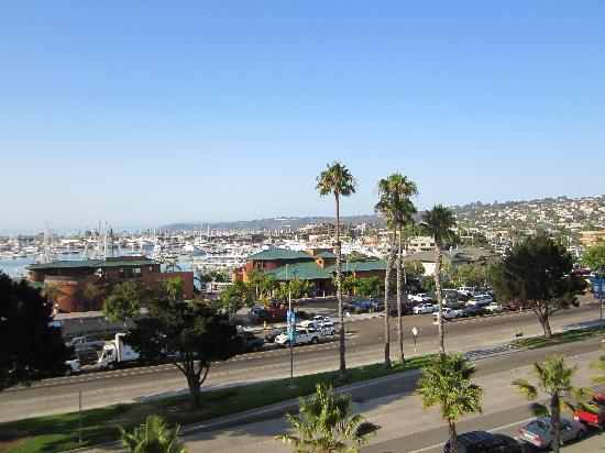 Best Western Yacht Harbor Hotel : View from the hotel looking towards the bay