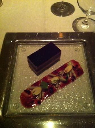 Petrus: the pressed foiegras with duck confit