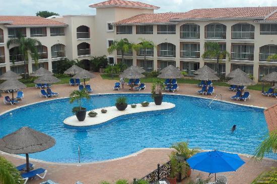 Sandos Playacar Beach Resort: balcony view