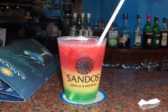 Sandos Playacar Beach Resort: tasted great!!!