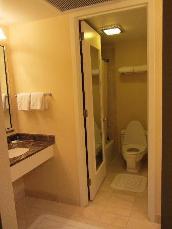 The Ritz-Carlton, Chicago: Spacious bathroom (there were two in a deluxe room)