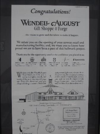 Wendell August Ohio Amish Country Store : A little History!