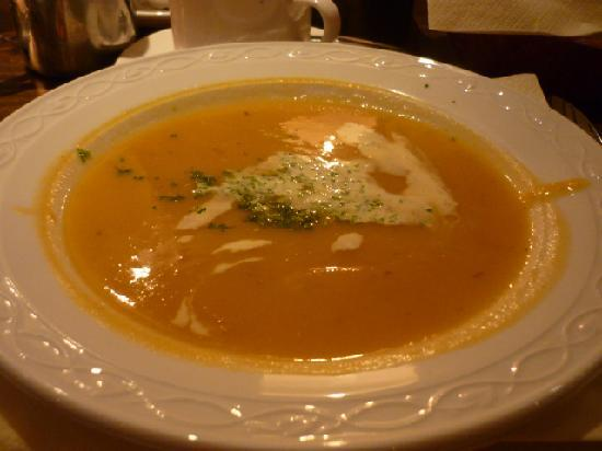 The Merry Ploughboy Irish Music Pub: Root vegetable soup