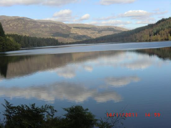 The Hairy Coo - Free Scottish Highlands Tour: Loch Drunkie