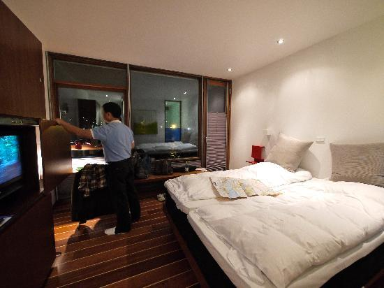 Hotel CPH Living: Note: the room might look bigger than real since I used a wide-angle lens
