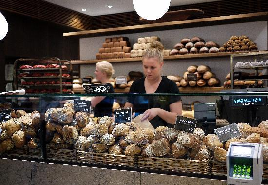 CPHLIVING Floating Hotel: Do not miss the bakery.  Eat a real danish.