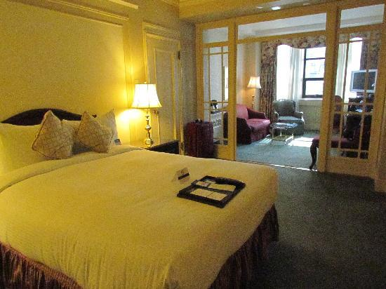 โรงแรม เดอะ แฟร์มอนท์ แวนคูเวอร์: Junior Suite