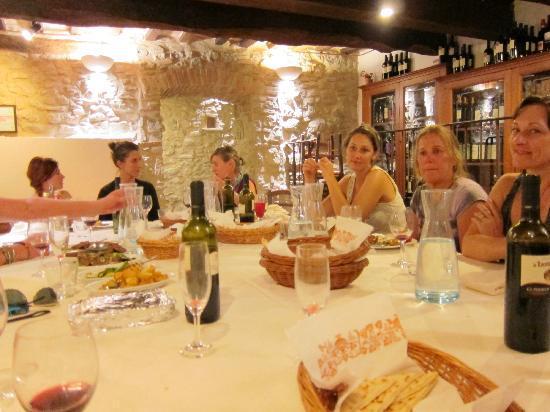 La Locanda dell'Ambra: during our amazing meal