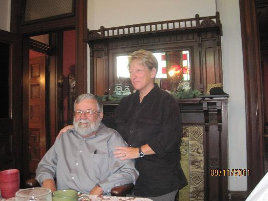 1884 Wildwood Bed and Breakfast Inn: The 3rd course for breakfast