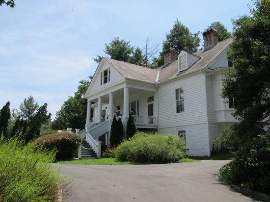 Carl Sandburg Home National Historic Site: The Carl Sandburg home called, Connemara