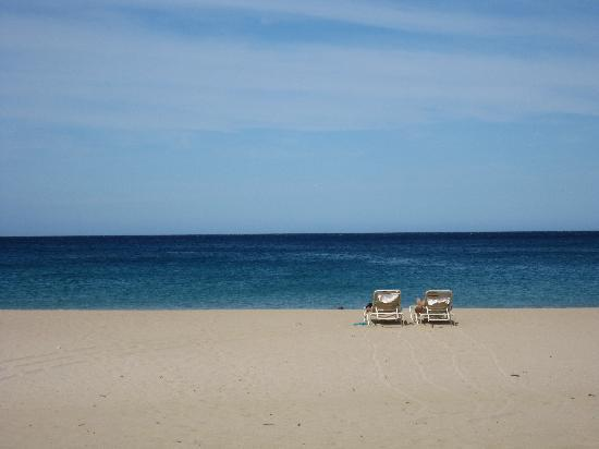 The Westin Hapuna Beach Resort: ホテル前のプライベートビーチ