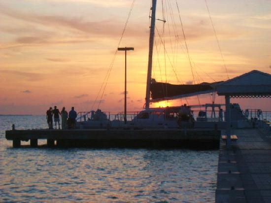 The Ritz-Carlton, Grand Cayman: Catamarran at Rum Point