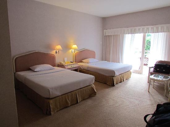 โรงแรมแกรนด์มูเทียรา: Our room