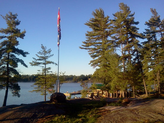 Chaudiere Lodge: View from lodge