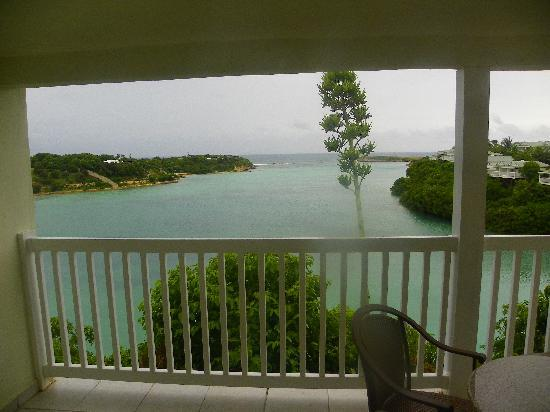 The Verandah Resort & Spa: view from our room