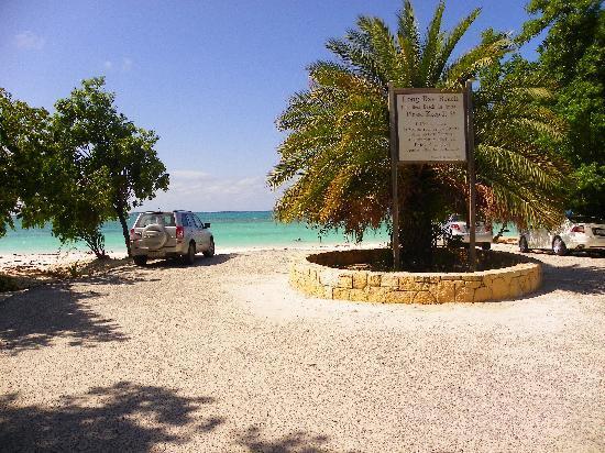 The Verandah Resort & Spa: long bay beach down the street from the verandah