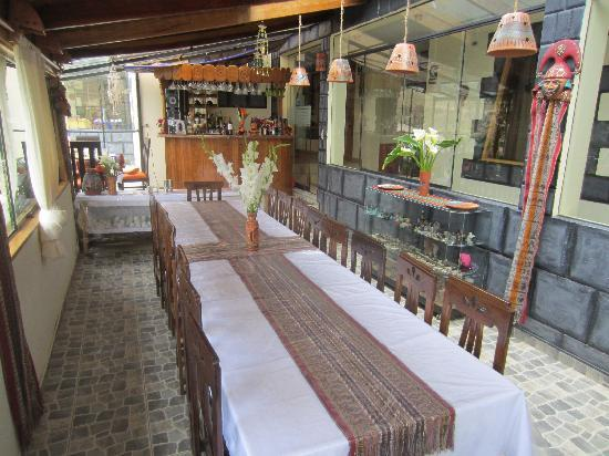 Ccapac Inka Ollanta Boutique Hotel: Dining Area