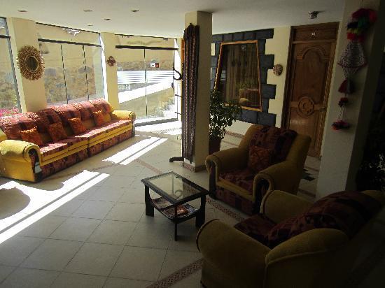 Ccapac Inka Ollanta Boutique Hotel: Lobby