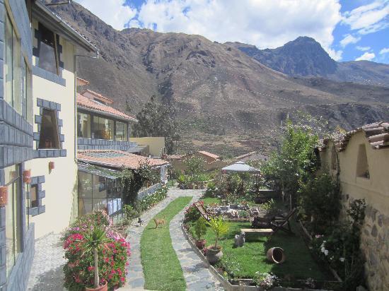 Ccapac Inka Ollanta Boutique Hotel: Garden Area