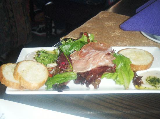 Cinderella's Royal Table: Chef's Tasting Plate- Appetizer