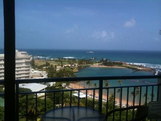 Caribe Hilton San Juan: the view