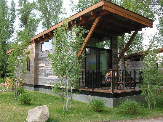 Fireside Resort: Our cabin