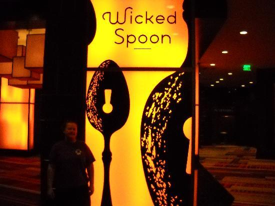 Wicked Spoon: sign