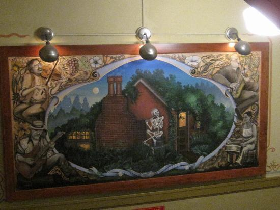 McMenamins Edgefield: Painting of Jerry's Ice House