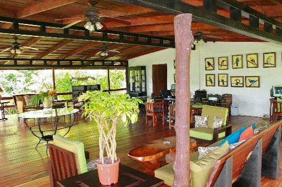 Chachagua Rainforest Eco Lodge: Hotel Lobby