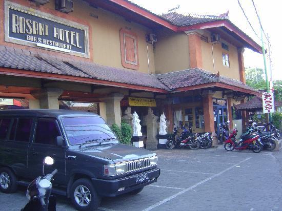 Rosani Hotel: 静かな通りに面しています