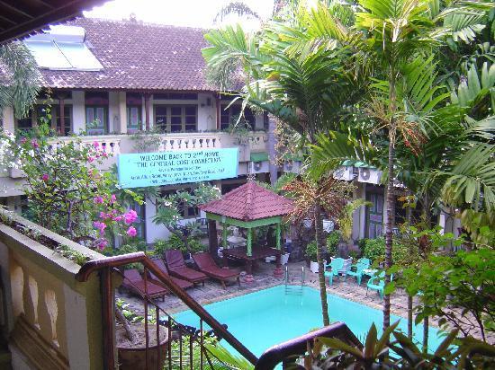Rosani Hotel: 内庭
