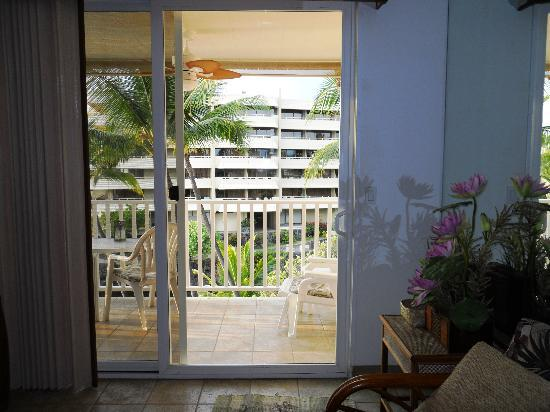 Hale Kona Kai Condominiums: View from living room