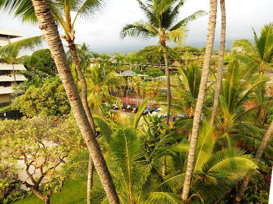 Hale Kona Kai Condominiums: From balcony looking towards the right