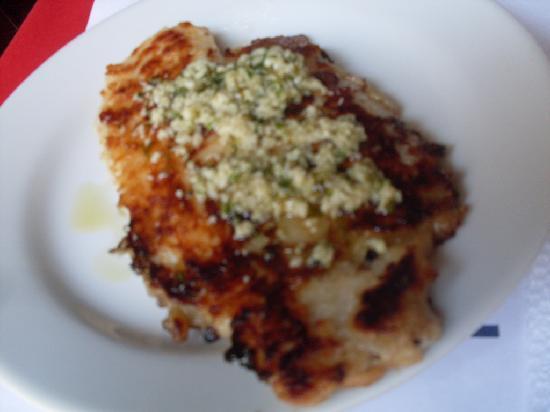 Porton de San Sebastian: Garlic Fish ( VERY OILY)