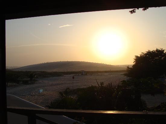 Pousada Papaya: por-do-sol - vista suite Luxo