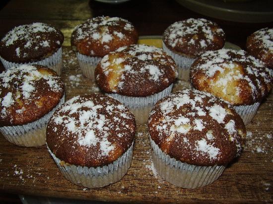 Pousada Papaya: muffins café da manha