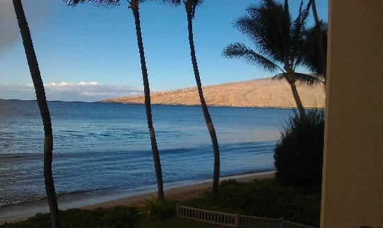 Sugar Beach Resort: View from lanai