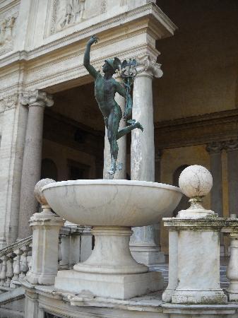 Villa Medici - Accademia di Francia a Roma: Mercury by Giambologna - Villa Medici, Rome