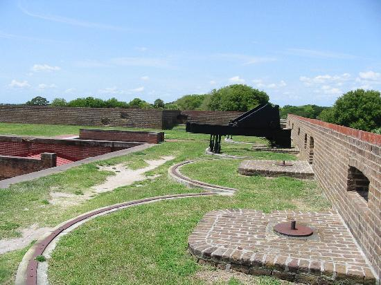 Fort Pulaski National Monument: From second level