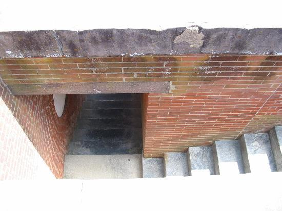 Fort Pulaski National Monument: Stairs