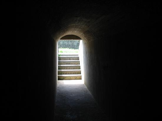 Fort Pulaski National Monument: Stairs that looked cool