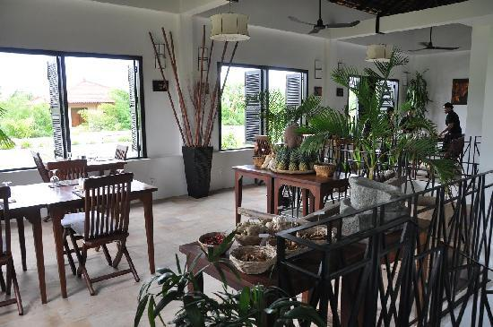 โรงแรมบันวิน บูติก: Restaurant
