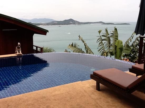 โรงแรมแซนดอลวู้ด ลักซูรี่ วิลล่า: jumpee - room with a view